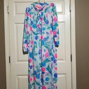 Lilly Pulitzer | Vintage dress lounge nightgown L